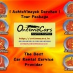 Ashtavinayak Darshan Tour by OntimeCars from Pune and Mumbai