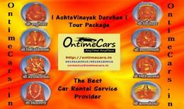 Ashtavinayak Darshan Tour by OntimeCars from Pune and Mumbai